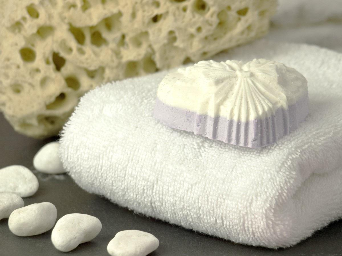 Natural cosmetics soap towel cleaning body care clean hygiene wash 640370